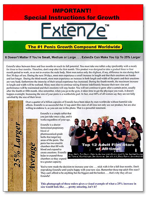 Extenze Free Trail